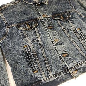 Levi's Dark Acid Wash 70507-0227 Trucker Jacket